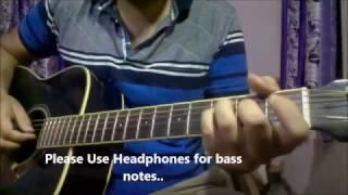 Chahun Main Ya Naa Finger Picking Guitar |  Lesson #4 | Arijit Singh