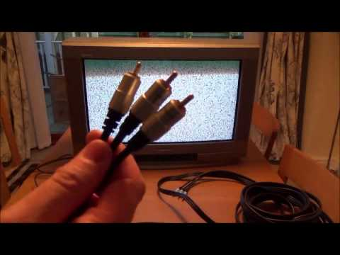 Connecting Nintendo Switch via Composite AV to OLD CRT Television