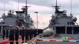 Marina Militare, La Spezia - Ultimo Ammaina Bandiera di Nave Maestrale - www.HTO.tv