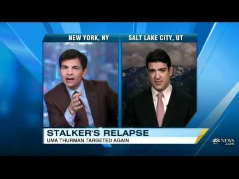 Xxx Mp4 Uma Thurman 39 S Stalker Arrested For A Second Time ABC News Mp4 3gp Sex