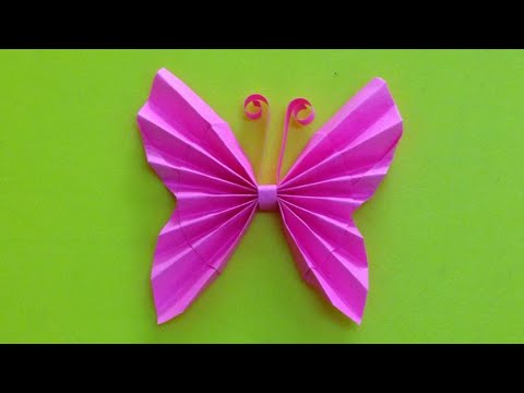 Xxx Mp4 How To Make A Paper Butterfly Easy Origami Butterflies For Beginners Making DIY Paper Crafts 3gp Sex
