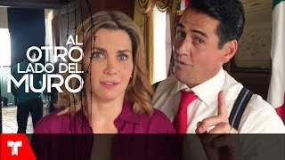 Al Otro Lado Del Muro   Gabriel Porras y Gabriela Vergara y sus escenas eróticas   Telemundo