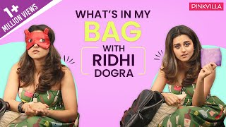 What's in my bag with Ridhi Dogra   S03E03   Fashion   Pinkvilla   Bollywood