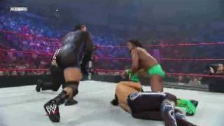 WWE Superstars 6/25/09 Matt Hardy Vs MVP Vs Kofi Kingston For US Championship 1/2 HD 720p