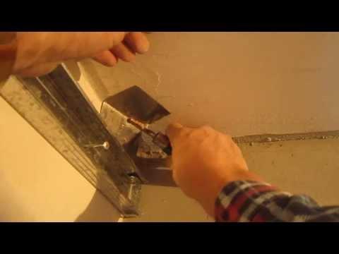 какие доходы как сделать внутренний угол на стене показать это