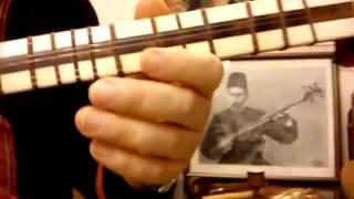 اموزش تار-دوره مقدماتی-کتاب اول هنرستان موسیقی-جلسه هفده ب - تار: شهرام اعتمادی