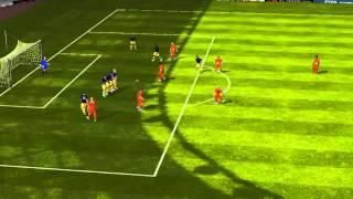 FIFA 14 iPhone/iPad - FC GahsA vs. Esbjerg fB