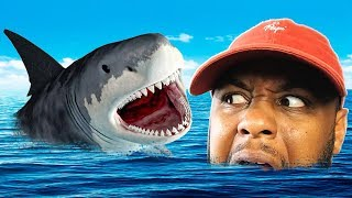 HOW TO SURVIVE A SHARK ATTACK | Raft