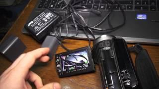 Prezentare JVC GZ-HD30E (olx)