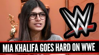 MIA KHALIFA SHOOTS ON WWE! Going In Raw 12/12/17