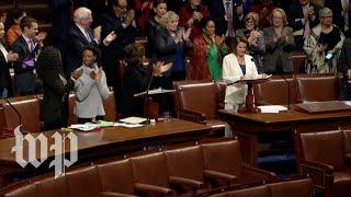 Nancy Pelosi's eight-hour speech, in three minutes