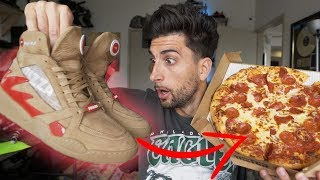These Smart Shoes Order Pizza!!🍕🍕