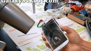 How to Replace Screen Glass Only on Galaxy S4!