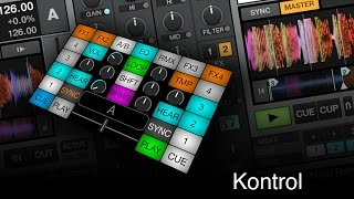 Kontrol Android / iOS MIDI DJ Controller App (Traktor and Virtual DJ)