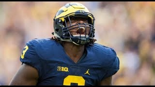 The Most Dynamic Defensive End in the COUNTRY 💯 Rashan Gary Michigan Highlights