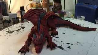 Sculpting Magnifico, the Dragon
