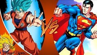 Goku VS Superman _ Saiyan Vs Kryptonian REACTION!!!