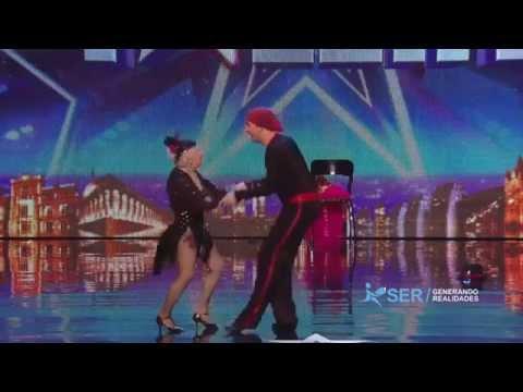 Paddy Jones baila salsa a los 80 Sub español HD 2014 Britain s got talent