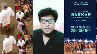 Thalapathy Fan Best Reply to Thala Haters & Happy to share 2nd Sarkar Announcement