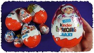 MAXI Kinder Überraschung   Weihnachts-Edition   Disney FAIRIES (Kinder Surprise Christmas)