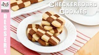 Checkerboard Cookies | Roti n Rice