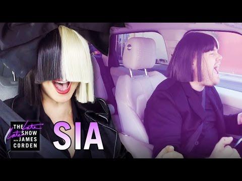 Sia Carpool Karaoke