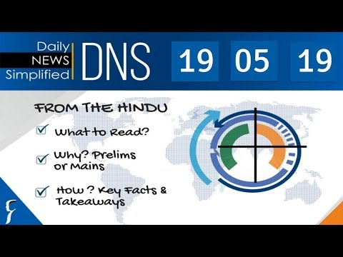 Xxx Mp4 Daily News Simplified 19 05 19 The Hindu Newspaper Current Affairs Analysis For UPSC IAS Exam 3gp Sex