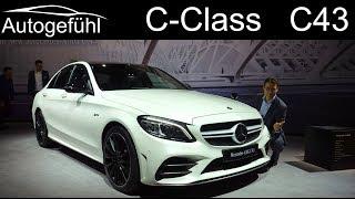 Mercedes C43 AMG C-Class Facelift REVIEW 2019 2018 - Autogefühl