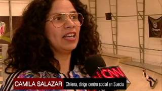 Chilenos inmigrantes en Suecia en medio de la crisis migratoria