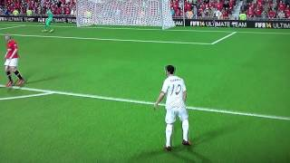 LUIS SUAREZ FIRST GOAL WITH REAL MADRID اول اهداف لويس سواريز بقميص ريال مدريد