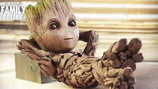 Guardians of The Galaxy Vol.2 | Baby Groot No.1 Cute!