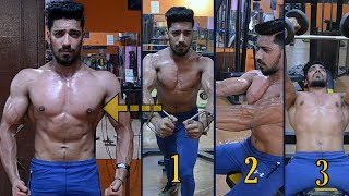 Top 3 Best Exercises For A Bigger Chest | Advance Level Chest Workout | bodybuilding