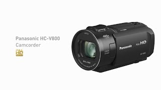 Panasonic Full HD Camcorder  HC-V800