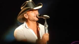 Tim McGraw (Red Rag Top) - Allentown Fair - August 29, 2014