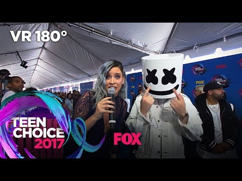 Marshmello Accepts A 7 Second Challenge TEEN CHOICE