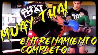 Entrenamiento de Muay Thai - Completo