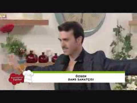 Ozgen performing Turkish Romani Gypsy dance live on Turkish TV