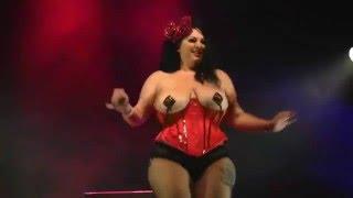 Ava Noir from Toronto Burlesque Festival 2015