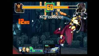 KOFcollector - The King Of Fighters 2001 Personal Video Combo