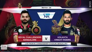 RCB vs KKR Match Highlights | IPL 2018 | 29th Match Highlights