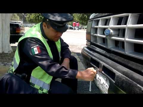 Transito Municipal Puebla Corruptos Patrulla P 103