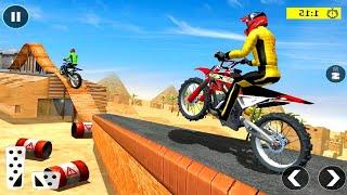 EXTREME MOTOR BIKE STUNT MASTER GAME #Dirt Motorcycle Race Game #Bike Racing Games #Games To Play