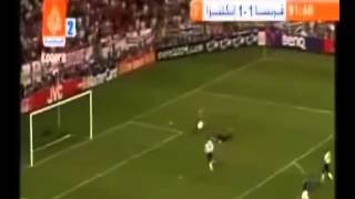 زيدان يقلب الطاوله على الانجليز خلال 4 دقائق   يورو 2004