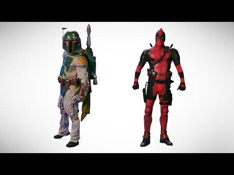 Deadpool vs Boba Fett. Epic Dance Battle of History