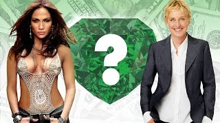 WHO'S RICHER? - Jennifer Lopez or Ellen DeGeneres? - Net Worth Revealed! (2016)