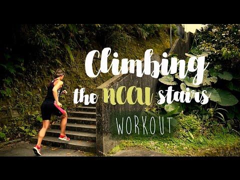 Climbing the NCCU stairs [WORKOUT]