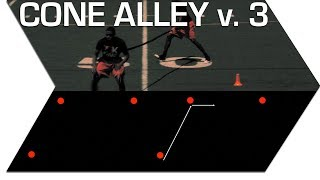 CONE ALLEY vers. 3 - FOOTBALL SPEED TRAINING