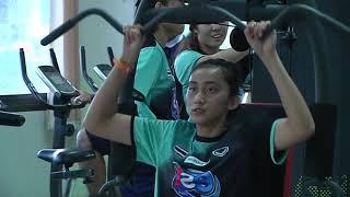 18 05 2561 เวทเทรนนิ่ง @SMM 12th Asian Est Cola Women's U17 Volleyball Championship