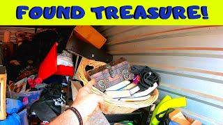 Found Treasure In An Unpaid Storage Unit Locker | Money Gold And Old Comics