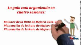 RUTA DE MEJORA FASE INTENSIVA 2015-2016
